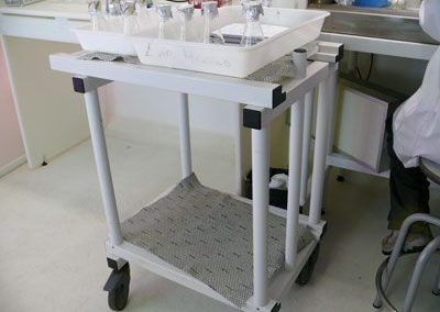 Carro de laboratorio